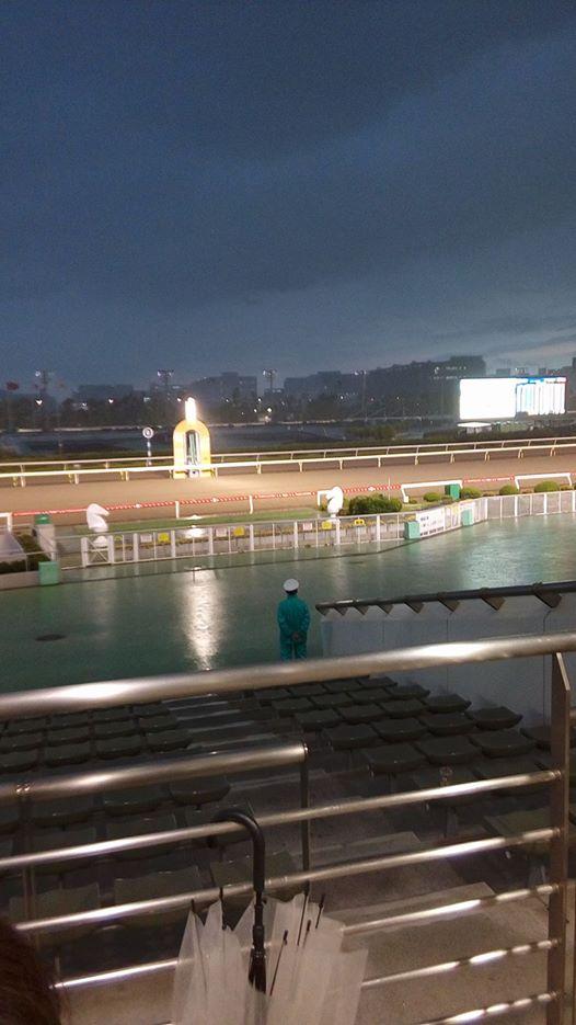 170605大井競馬場雨