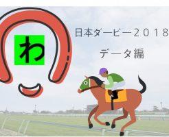 日本ダービー2018データキャッチ