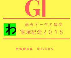 宝塚記念2018データキャッチ