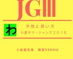 小倉サマージャンプ2018キャッチ