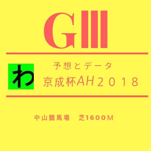 京成杯AH2018キャッチ