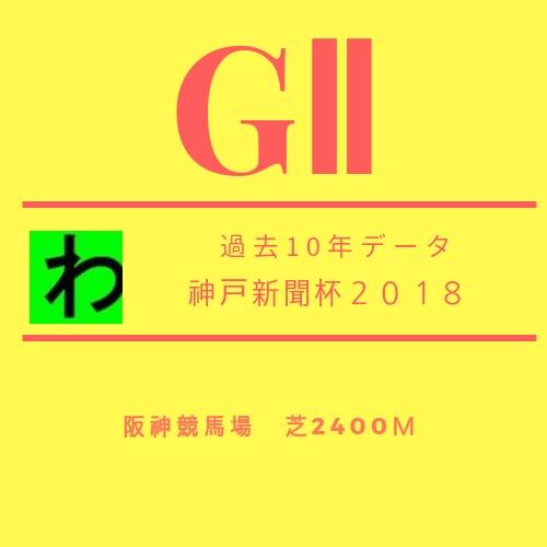 神戸新聞杯2018データキャッチ