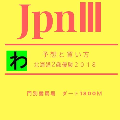 北海道2歳優駿2018キャッチ