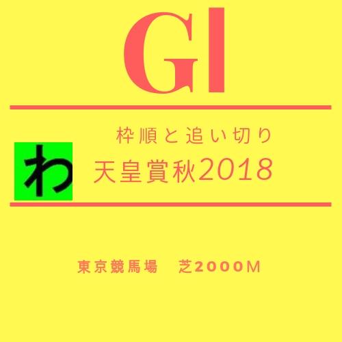 天皇賞秋2018追い切りキャッチ