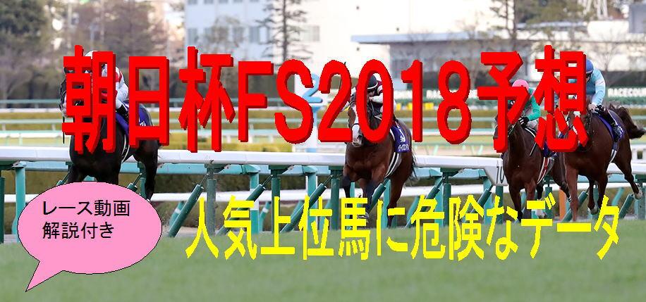 朝日杯FS2018データキャッチ