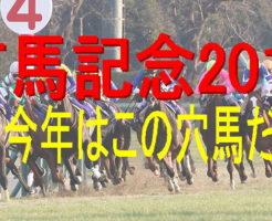 有馬記念2018穴馬キャッチ