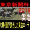 東京新聞杯2019競馬予想|過去4頭が該当した穴馬の黄金ローテ