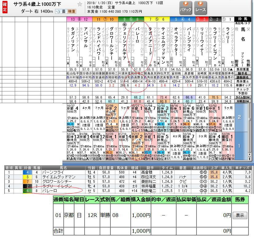 190120京都12R