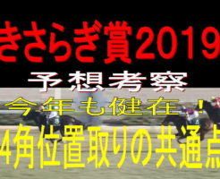 きさらぎ賞2019キャッチ