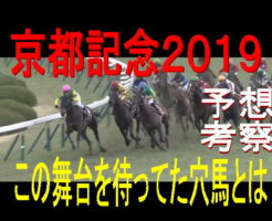 京都記念2019キャッチ