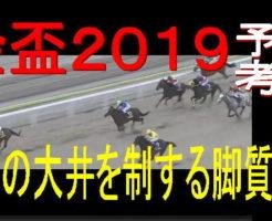 金盃2019キャッチ