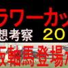 フラワーカップ2019競馬予想|鉄板軸馬登場か?
