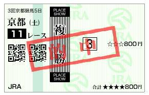 京都新聞杯2019馬券