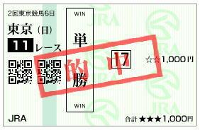 NHKマイルC2019馬券