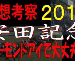安田記念2019キャッチ