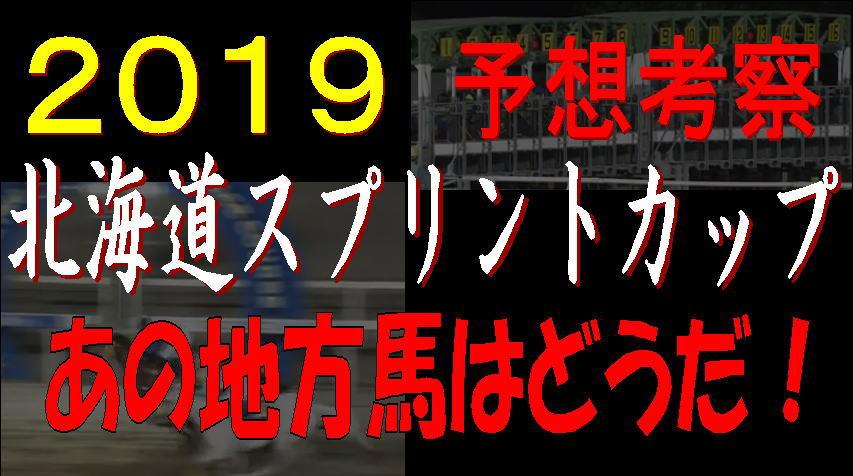 北海道SC2019キャッチ