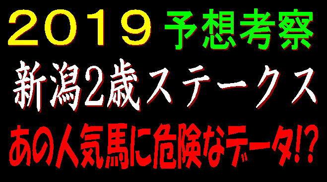新潟2歳S2019キャッチ