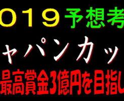 ジャパンカップ2019キャッチ