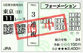 ジャパンカップ2019馬券