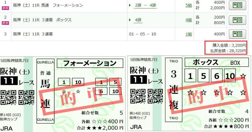 阪神C2019的中FB