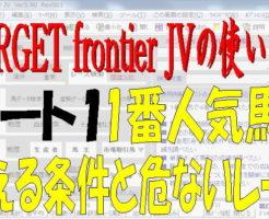 TARGET frontier JV1キャッチ