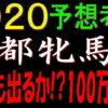 京都牝馬ステークス2020競馬予想|今年も出るか!?100万馬券!