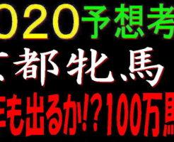 京都牝馬S2020キャッチ