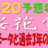 桜花賞2020消去法データ(過去10年)