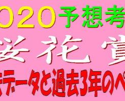 桜花賞2020キャッチ1