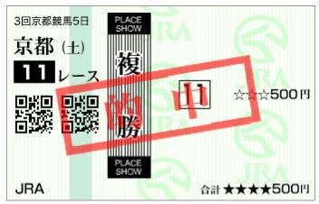 京都新聞杯2020複勝