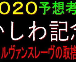 かしわ記念2020キャッチ
