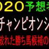 兵庫チャンピオンシップ2020予想(園田競馬)|1頭の絞れた勝ち馬候補のデータ