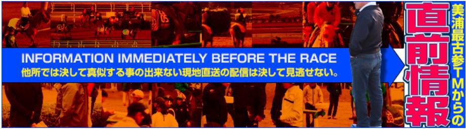 レープロ-美浦最古参TMからの直前情報