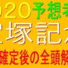 宝塚記念2020【枠順確定】全頭解説|良枠を引いたのは?