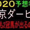 東京ダービー2020予想(大井競馬)|地方も2冠馬が出るのか!?