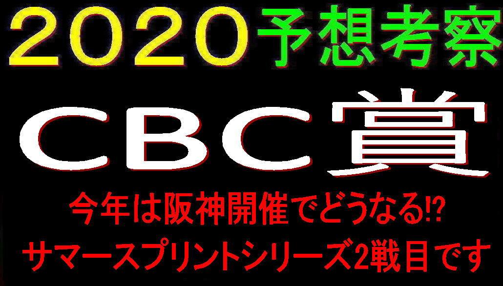 CBC賞2020キャッチ