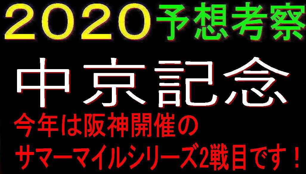 中京記念2020キャッチ