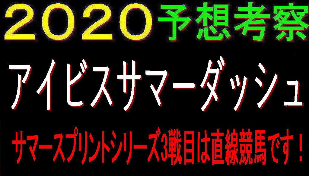 アイビスSD2020キャッチ
