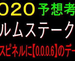 エルムS2020キャッチ