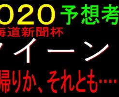 クイーンS2020キャッチ