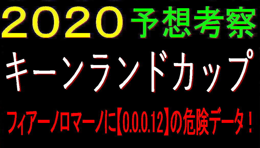 キーンランドカップ2020キャッチ