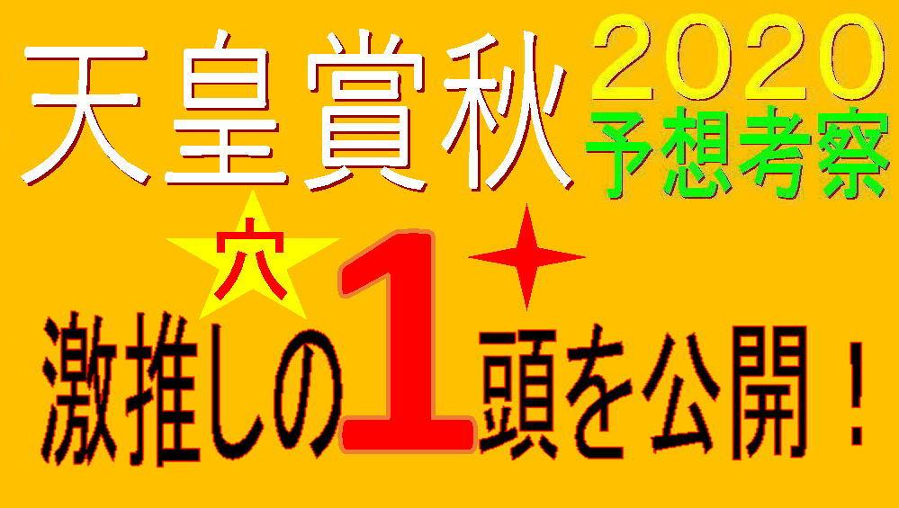 天皇賞秋2020キャッチ
