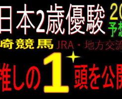 全日本2歳優駿2020キャッチ