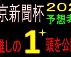 東京新聞杯2021キャッチ