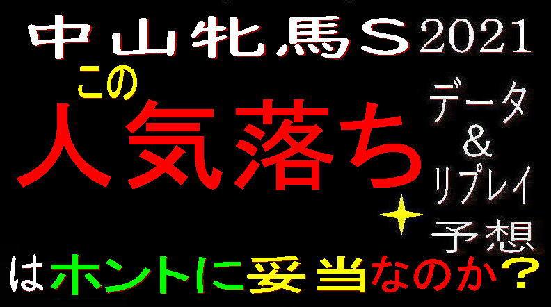 中山牝馬S2021キャッチ