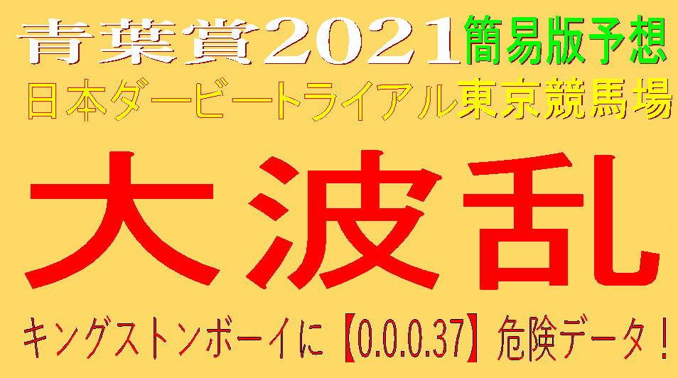青葉賞2021キャッチ