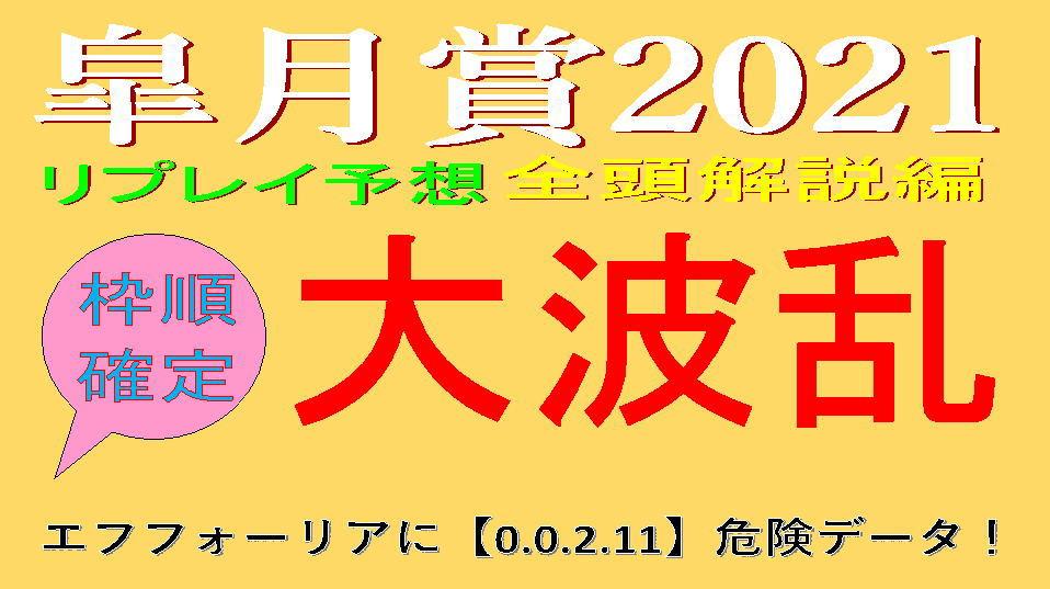 皐月賞2021動画キャッチ