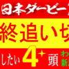 日本ダービー2021最終追い切り|エフフォーリア絶好!全頭考察