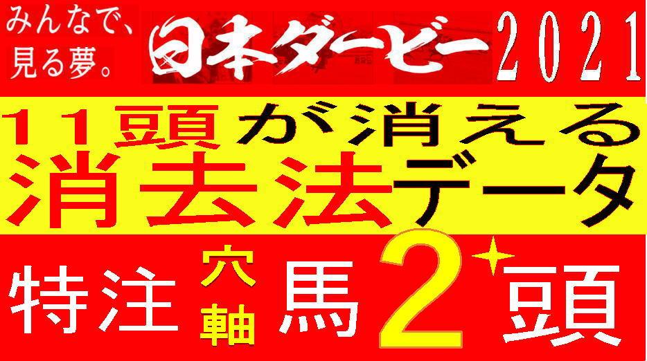 日本ダービー2021データキャッチ