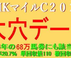 NHKマイルC2021キャッチ